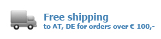 free shipping to DE, AT from 100,-
