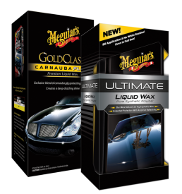Gold Class Carnauba Polish and Ultimate Liquid Wax
