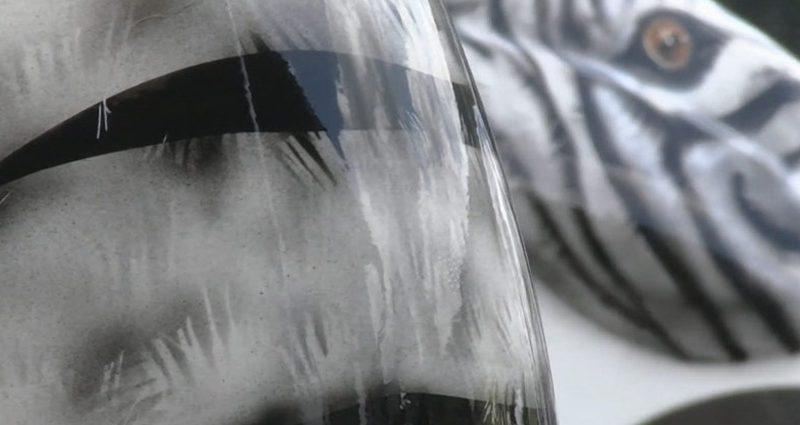 Airbrush mit 2K Klarlack versiegeln