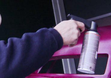 Kunststoffteile mitLackspray lackieren