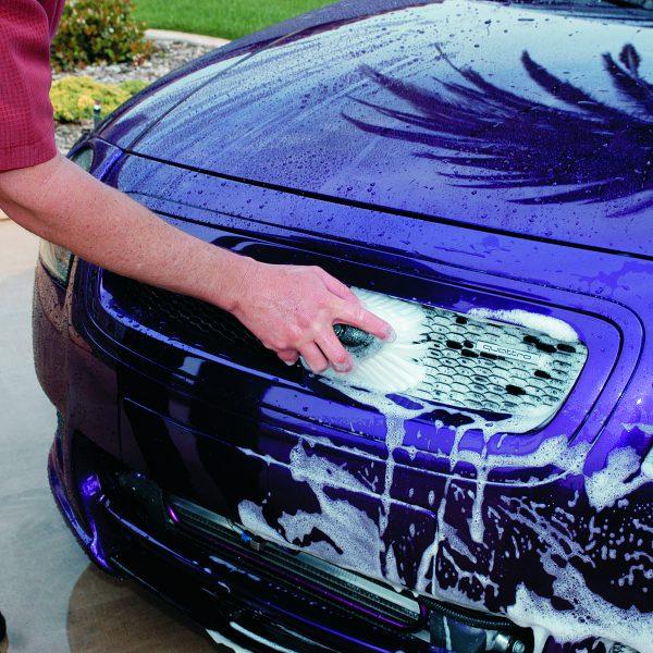 Waschen mit Versa Angle Body Brush Waschbürste Meguiars