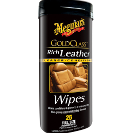 Rich Leather Cleaning, Care, Protection by Meguiars