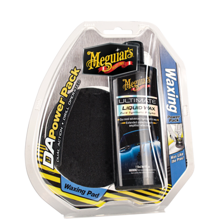 Waxing Power Pack mit Pads Meguiars